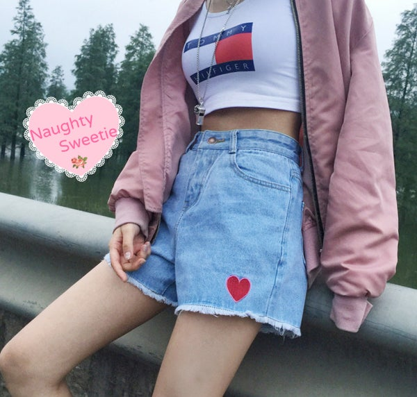 Image of Stole My Heart - Summer shorts