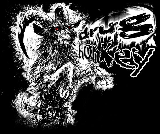 "Image of Drug Honkey - ""GOAT"" - T-Shirt"