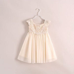 Image of Grace Vintage Cream Ivory Beige Dress, Holiday Dress, Shabby Chic; Photos