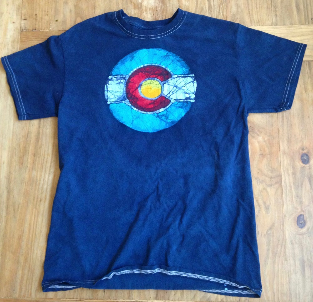 Image of Colorado Flag Batik