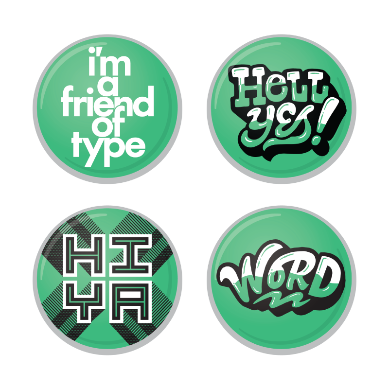 Image of 15.001 Friends of Type Member Pack - 1