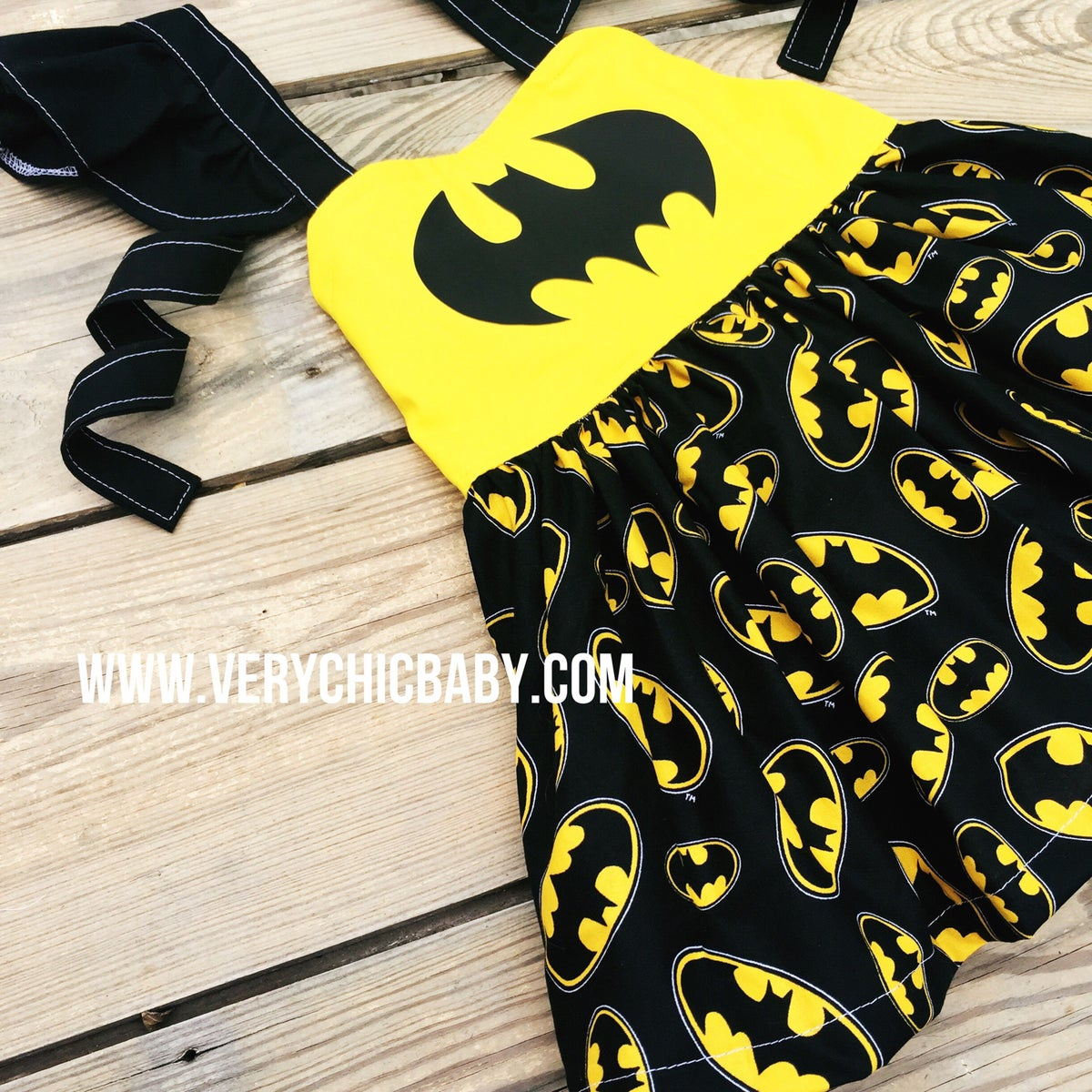 Image of Batman Inspired Dress