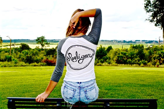 Image of Grey Baseball Tee