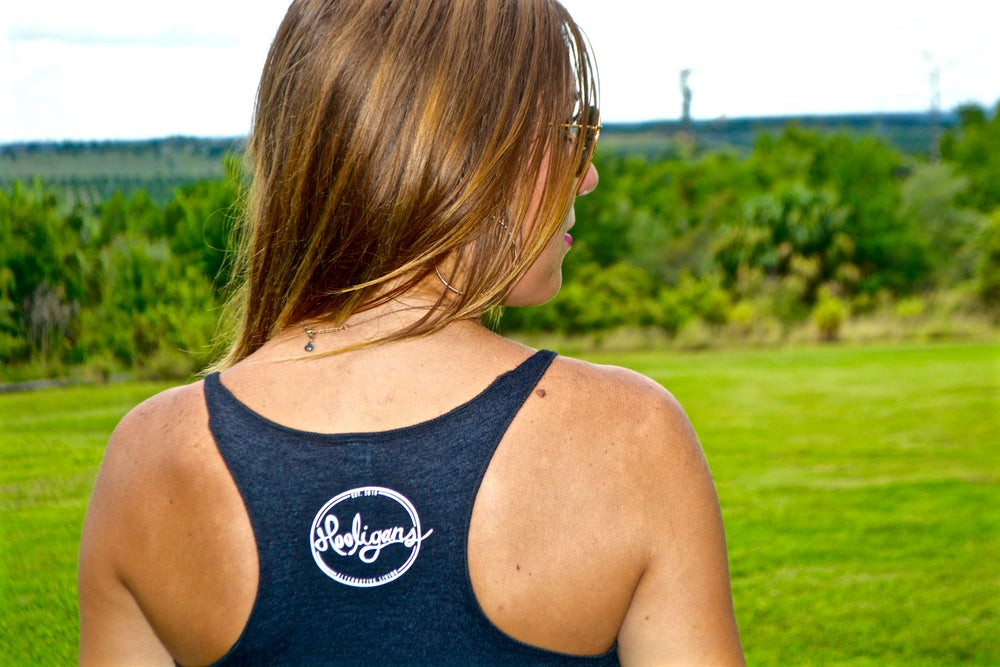 """Image of The High Life Collection: """"Banana."""" Women's Racer Back"""