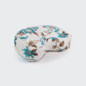 Image of Heart Zafu Cushion – patterned