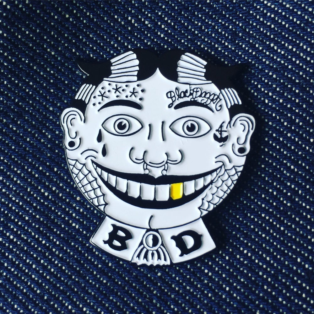 Image of Tough TIllie Enamel Pin
