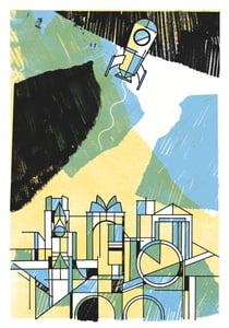 Image of LIFT-OFF! Art Print