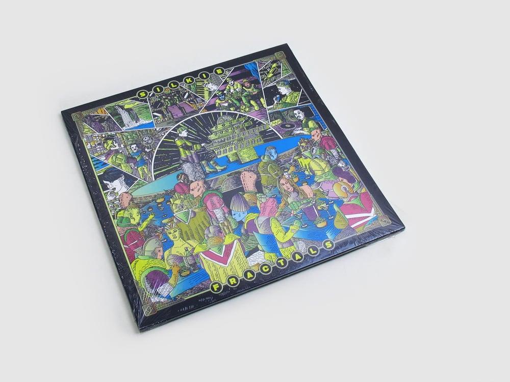 "Image of Silkie - Fractals 2x12"" Wide Spine LP"