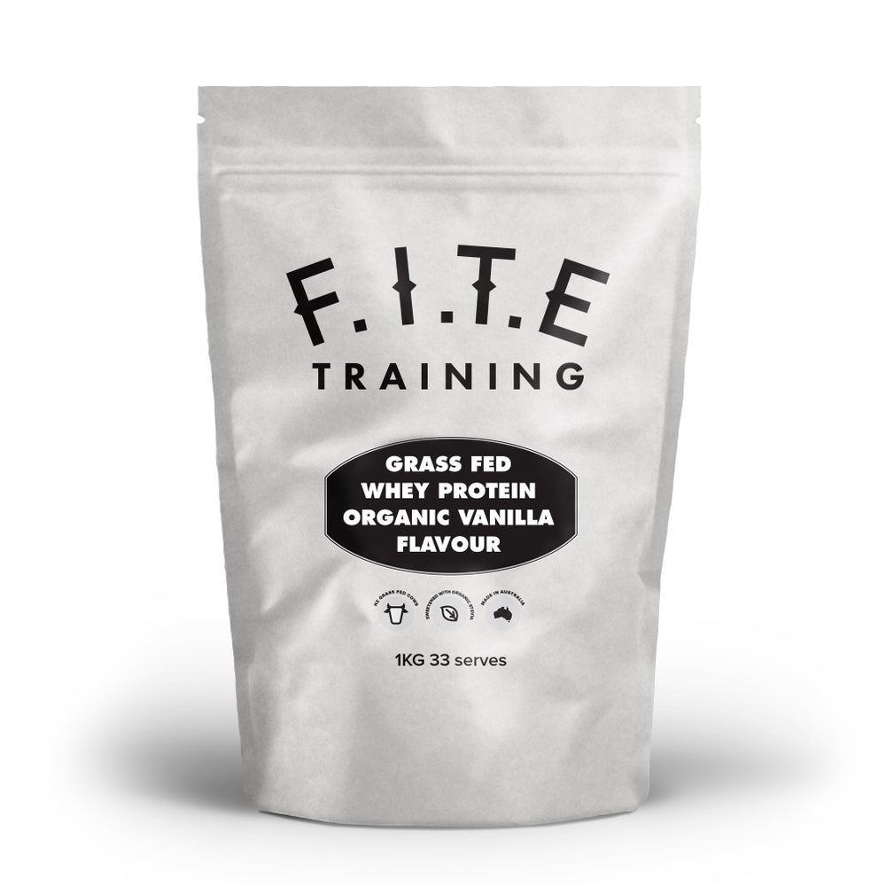 Image of Grass Fed Whey Protein Vanilla Flavour