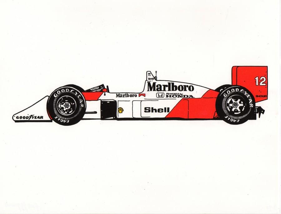 Image of 1988 Honda McLaren MP4-4