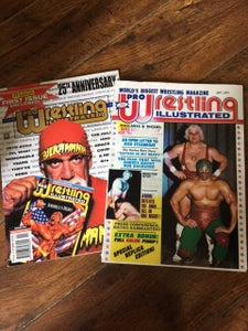 Image of 1ST ISSUE OF PWI 'PRO WRESTLING ILLUSTRATED' MAGAZINE  - REPRODUCTION