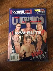 Image of PWI 'PRO WRESTLING ILLUSTRATED' 40 YEARS OF WWE MAGAZINE