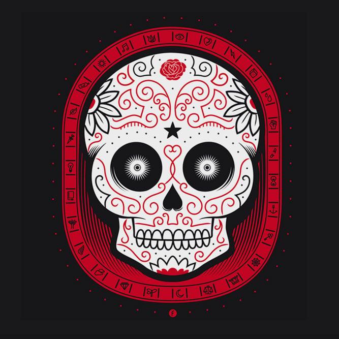 Image of Camiseta Calavera / Skull Tee