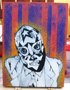 Image of night of the loving dead CANVAS