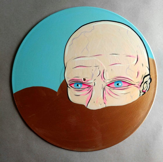 Image of Hand Painted Record - 4