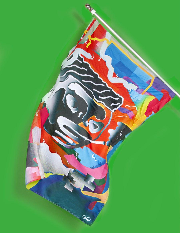 Image of Happy Camper Flag