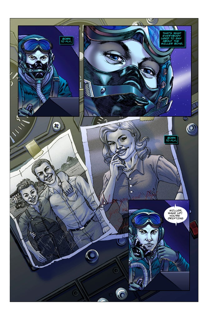 Image of F-00 FIGHTERS #1 [print comic]