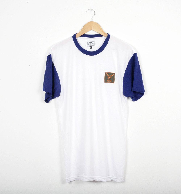 Image of Short sleeve lapis Raglan t-shirt