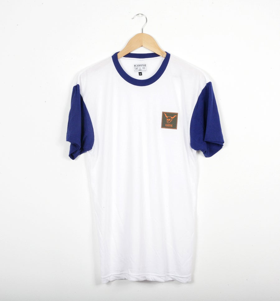 Image of Short sleeve lapis Raglan t-shirt
