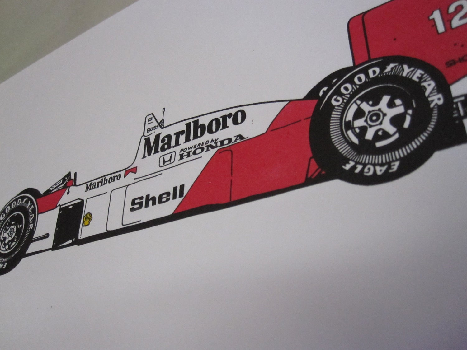 Image of 1988 Honda McLaren MP4-4