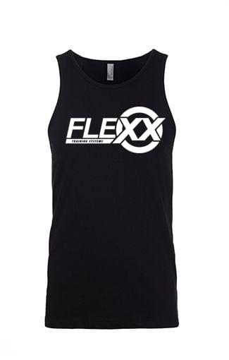 Image of Black/White Men's Flexx Tank