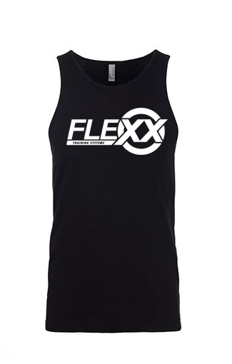 Image of Black/White Men's Flexx Tank