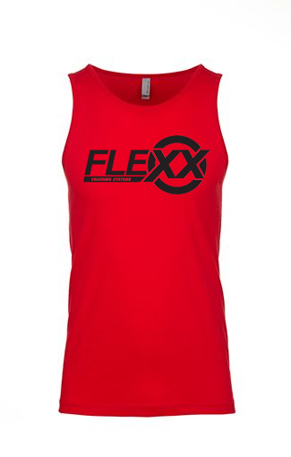 Image of *PREORDER* Red/Black Men's Flexx Tank