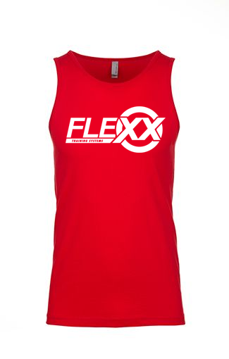 Image of *PREORDER* Red/White Men's Flexx Tank