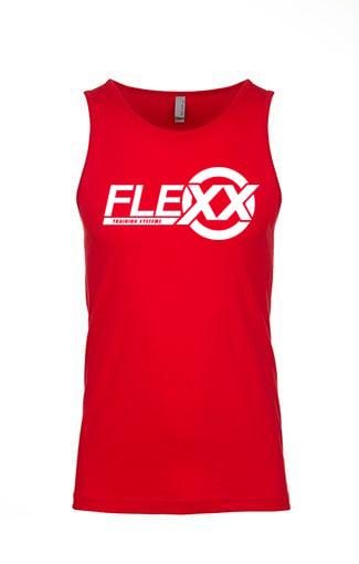 Image of Red/White Men's Flexx Tank