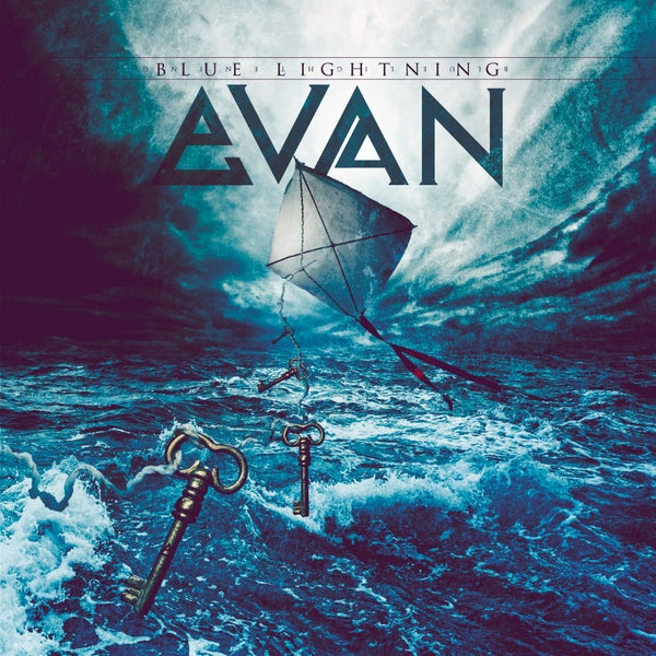Image of EVAN - Blue Lightning (LIMITED EDITION: Signed CD by Evan)
