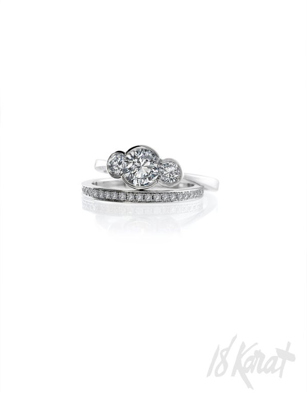 Danya's Engagement Ring - 18Karat Studio+Gallery