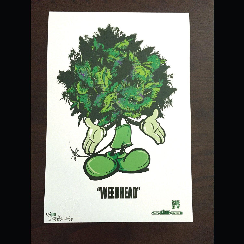 """Image of SILIKAx2SHAE """"WEEDHEAD"""""""