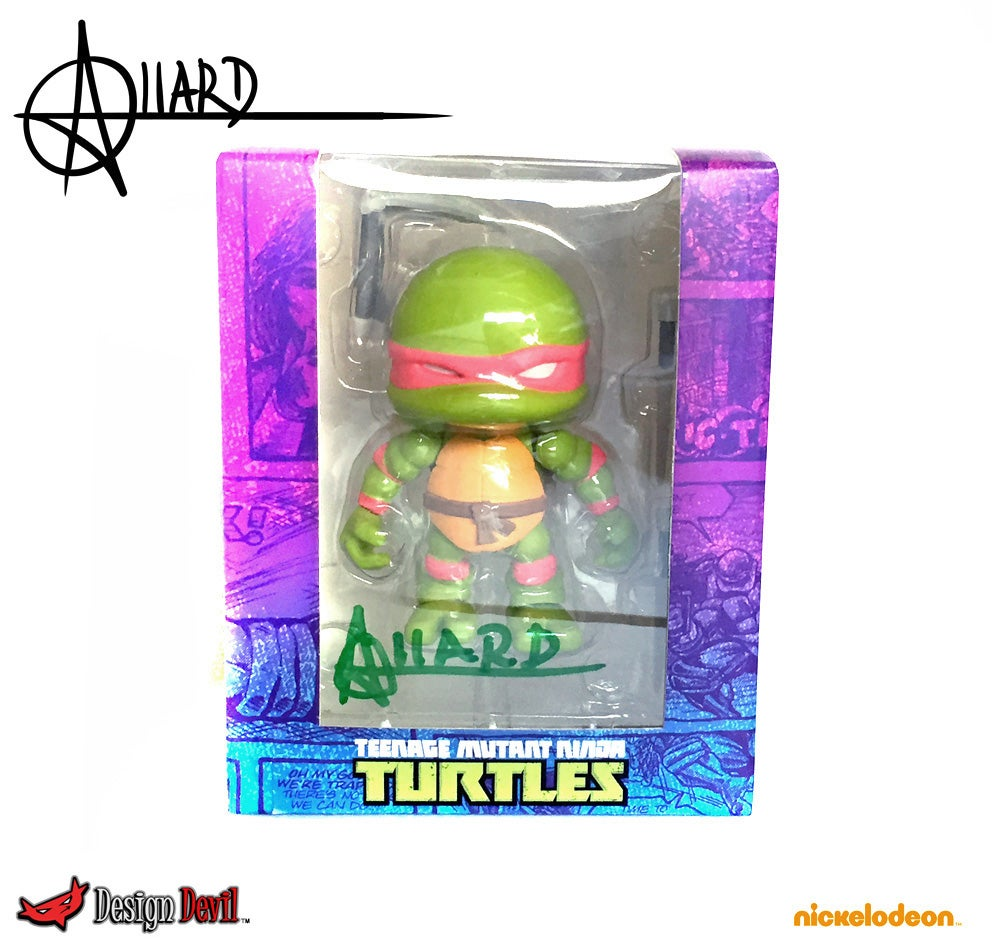 Image of Game Stop Exclusive Raphael Autographed Artist Sample