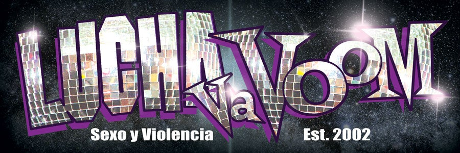 "Image of Lucha VaVOOM ""Disco"" Bumper Sticker"