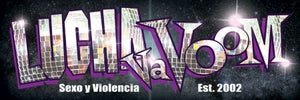 "Image of Lucha VaVOOM ""Disco"" Bumper Sticker"
