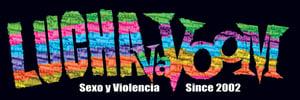 "Image of Lucha VaVOOM ""Piñata"" Bumper Sticker"
