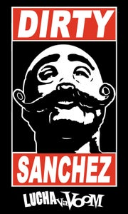 Image of Dirty Sanchez Sticker