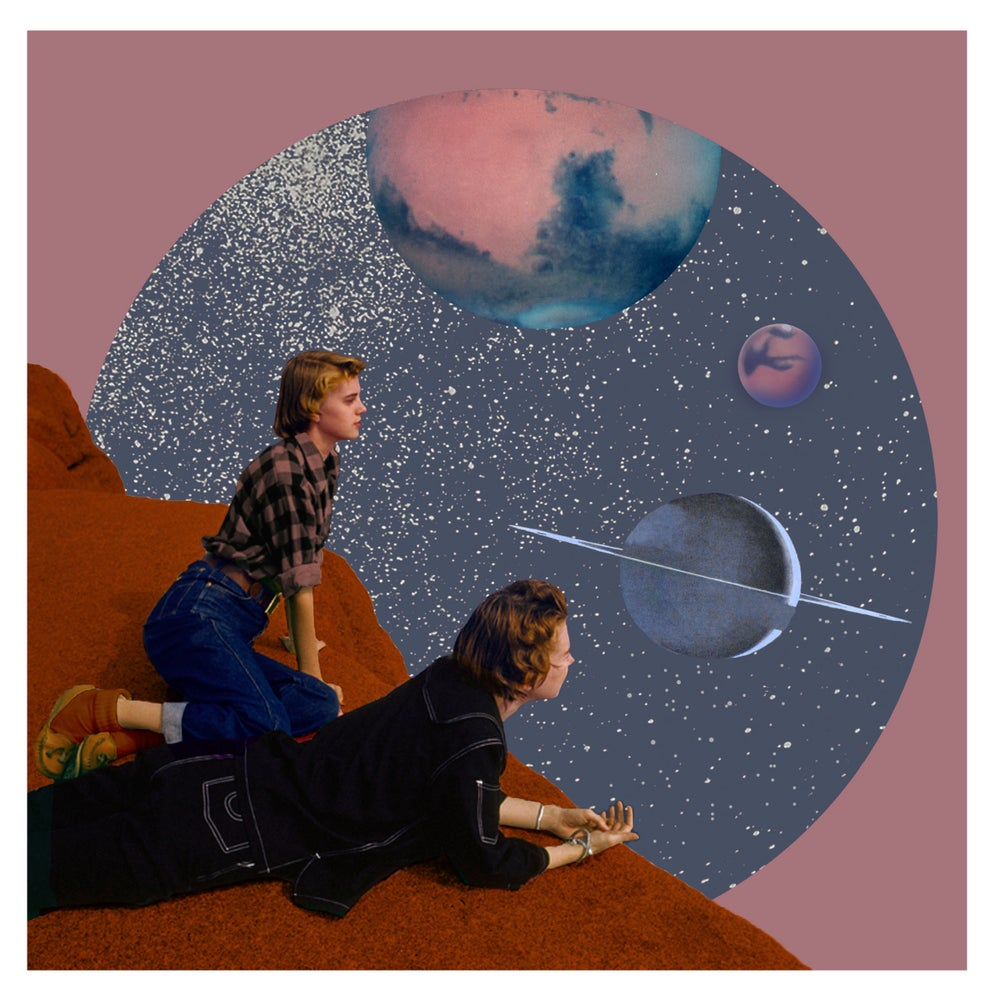 Image of Planet Watchers 8x8 Limited Edition Print