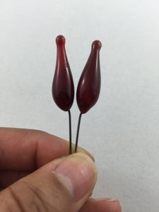 Image of Headpins - red comet