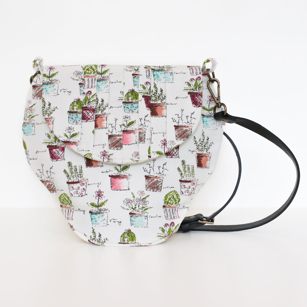 Image of Cacti Bonsai Strawberrie Crossbody Bag