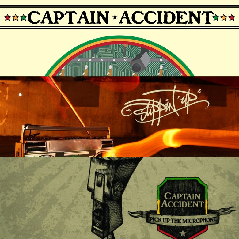 Image of Captain Accident - All Three Albums for £25.00!!!