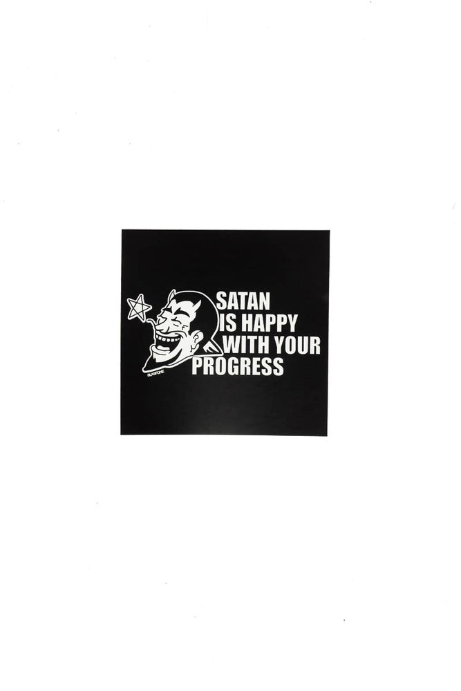 Image of Satan Is Happy With Your Progress Stickers