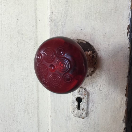Image of Zodiac Motif Door Knob