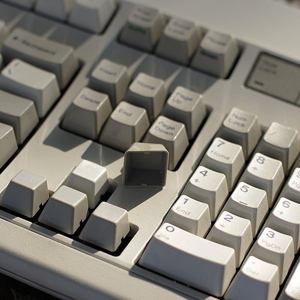Image of IBM Model M Bucking Spring Keyboard