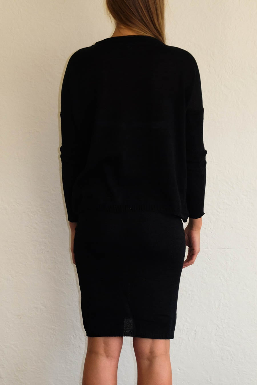 Image of TUBE SKIRT - BLACK