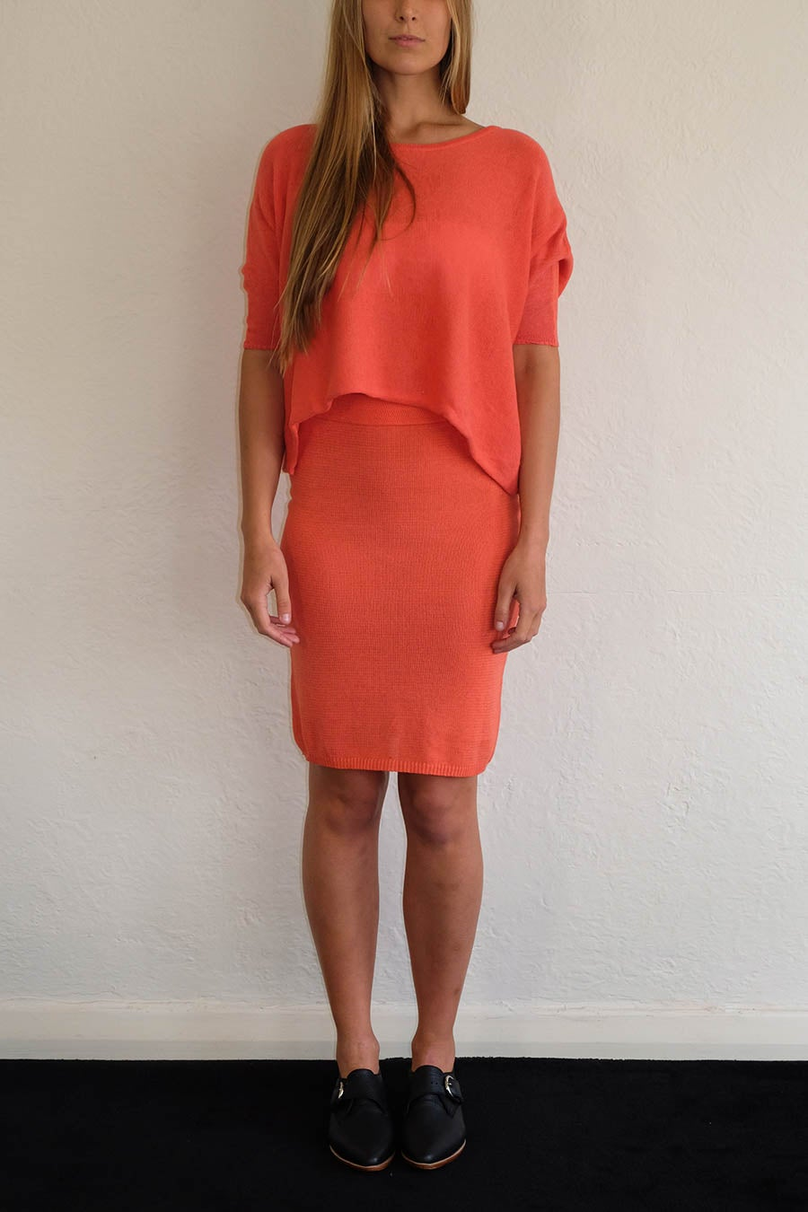Image of ANKE TEE - CORAL