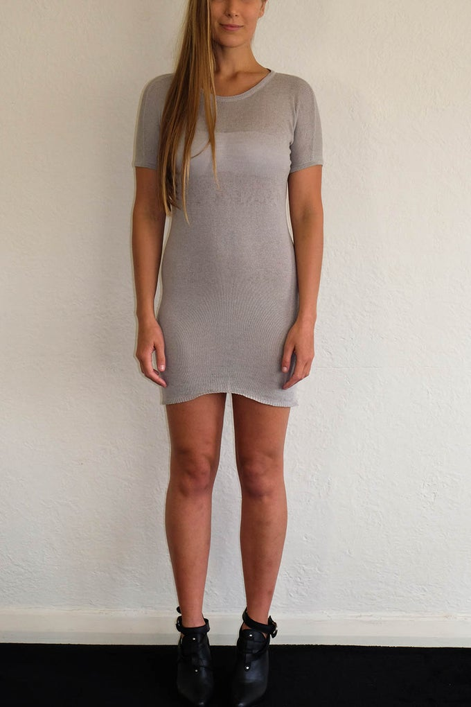 Image of ANKE MINI DRESS - GREY