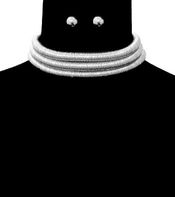 Image of Layered Cord Choker