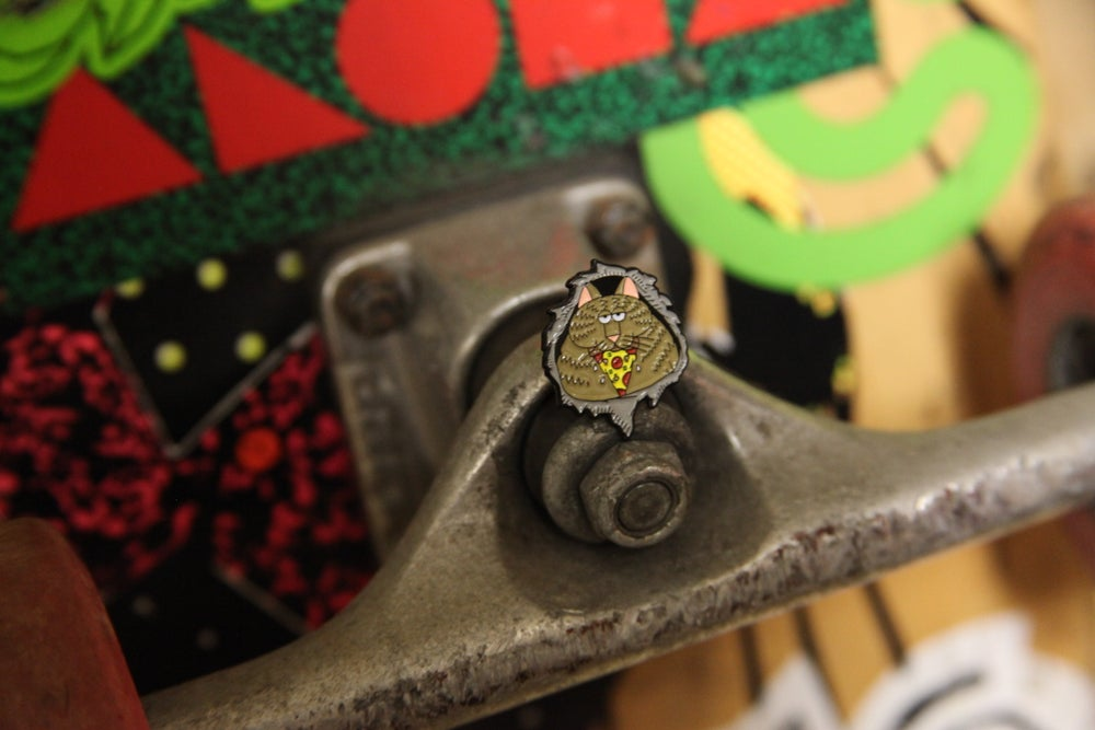Image of Rippercat pin