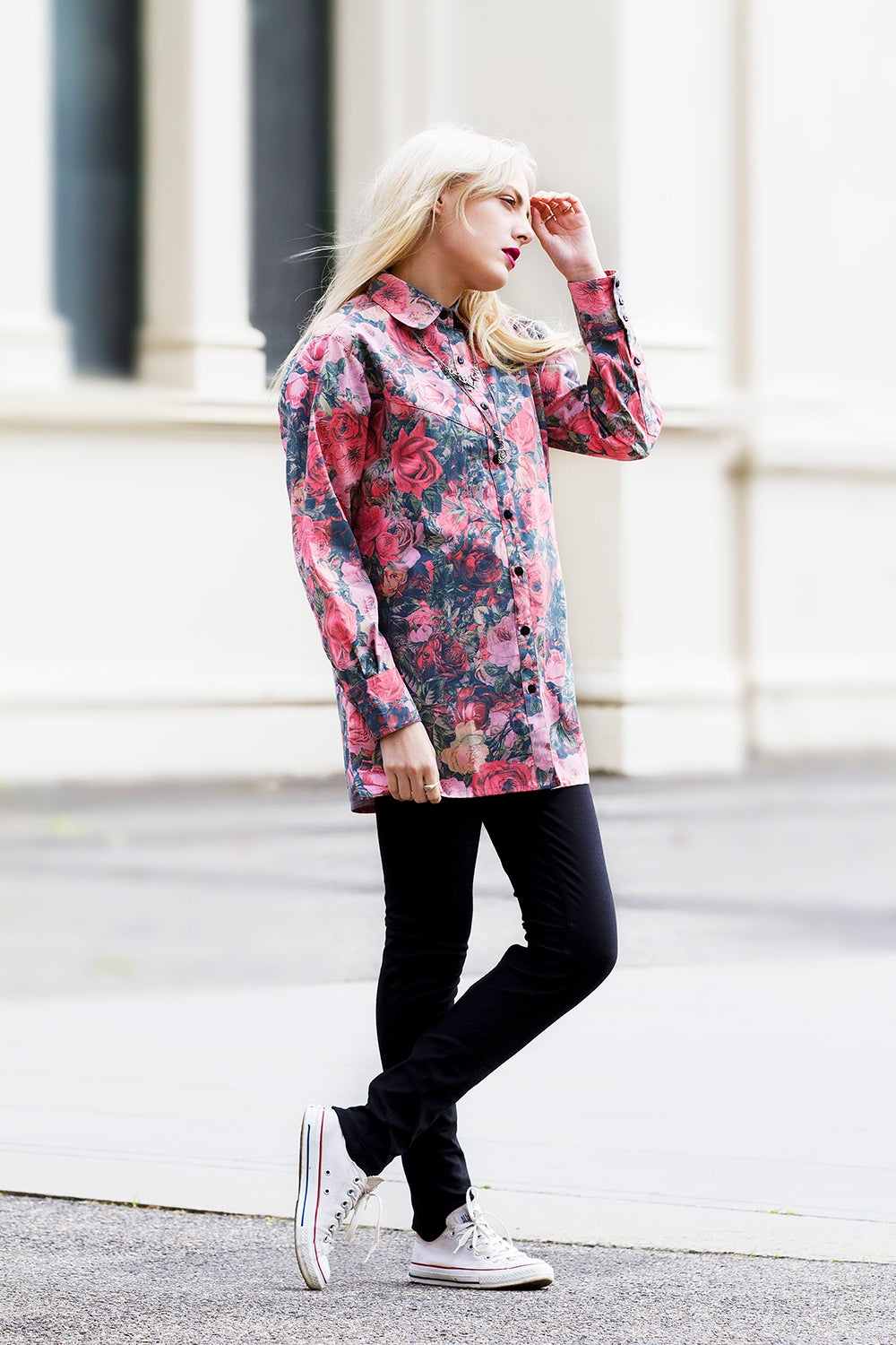 Image of CAMILLE SHIRT - ROSE